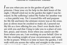 """""""My Princess"""" Notes from God / by Desiree Leal"""