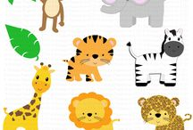 baby shower animals theme