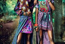 African / Various images of African prints, patterns, textures, fabrics, fashion & objects.
