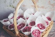 Pink Wedding Detail / Pink wedding ideas including bespoke wedding stationery