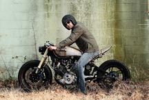 Motocykle CafeRacer, BratStyle, StreetTracker