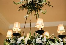"Wedding Reception / ""Wedding Details"" Inspiration for how to use transform your wedding venue through flowers."