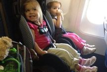 travelling on a plane