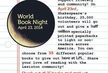 Lewiston Library Events / by Lewiston Public Library