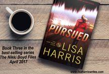 Pursued- book three in the Nikki Boyd Files