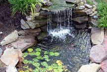 gardening waterfall