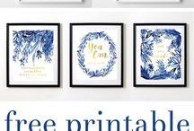 Printable wallart