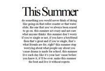 summer! / by Rachael Griffith