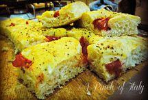 Pizza @ Focaccia  @ Pane