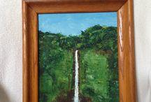honomu inn, big island / Honomu Inn, a hideaway on the Big Island, home to Akaka Falls