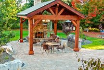Outdoor Spaces, Structures, Pavilions, Canopies, http://shopsheds.com/pavilions-canopies-gazebos.htm / Beautiful, affordable, outdoor space and structure ideas for your home and outdoor decor, pavilions, canopies, arbors, gazebos, http://shopsheds.com/pavilions-canopies-gazebos.htm