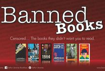 Banned Books  / Censored.... The books they didn't want you to see and read.  Check out your local Sefton Library, for the full set of banned books