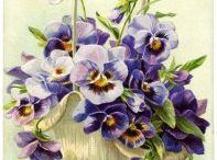 flowers decoupage...