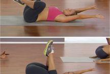 workout, yoga & pilates