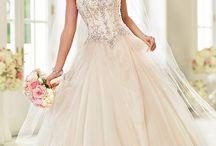 Wedding/reception dresses