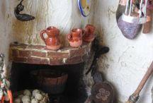 Cocinas artesanales rústicas chimeneas