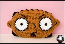Hoodiegan crochet mobile cases