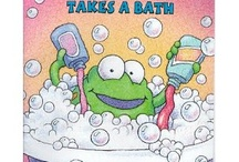 "Bathing / Picture Books and activities for Storytime. See also boards for Bubbles; and Mud. ""Rub-a-dub-dub, one child in a tub, tell me then what you see..."" / by Jane McManus"