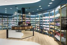 Farmacia Centrale - Arcore IT / Farmacia Centrale, set in Arcore, renewed itself and bet on a project able to surprise customer, offering him an innovative and outside the box experience.