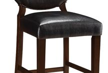"""Wood Bar Stools / Ashleydeals.com has a large selection of 24"""", 29"""", and 30"""" all wood and wood upholstered bar stools. Our bar stools are constructed of solid wood frames and are easy to assemble. We have both with and without backs. All bar stools ship FREE of charge to the continental U.S."""
