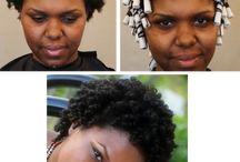 Natural Hair Perm