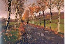 Fritz Thaulow / Thaulow (1847 - 1906) was a Norwegian impressionist painter who is best known for his naturalistic depictions of nature. Brother-in-law to Christan and Oda Krogh