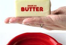 Food - Butter / by Ilene Irvin