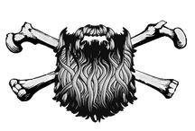 Bearded Skulls / Referências para tattoo da caveira barbuda