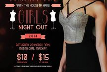 House of Harli Girls Night Out / House of Harli's first ever Girl's Night Out Fashion event held in Mackay.