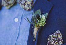 blue suit tie combo
