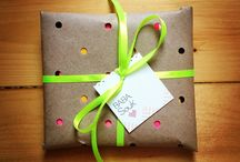 Wrapping & Packaging / Useful gift wrapping inspiration!