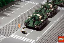 Famous scenes in Lego