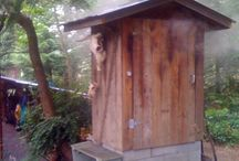 Smoking shed