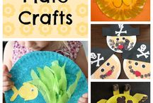 Paper Plate Craft / Paper plate crafts for babies, toddlers and preschoolers.