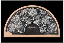 Art nouveau, Modernisme, Modernisme / Projectes i treballs de punta modernistes. Proyectos y trabajos de encaje modernistes. Art Nouveau projects and lace.