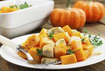 Recettes avec Courges, Aubergines, etc. / L'automne arrive et le Coeur de la Montérégie est équipé pour vous nourrir de nos délicieux légumes de saison! Inspirez-vous de ces idées de recettes avec courges et/ou aubergines.