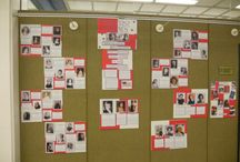History Displays / A collection of photos of the History Displays we have had here at the John M. Pfau Library.