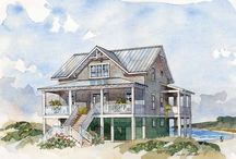 My future beach cottage... / by Robin Kimball