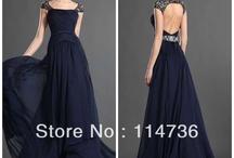 Vestidos a Azul Damas / Vestidos de damas de honor