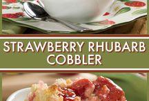strawberry/rhubarb