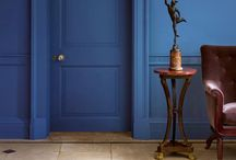 Trend: Navy Interiors / Navy blue is set to take over from grey as the backdrop for our homes. Here are some of our favourite navy finds from the world of interior design as well as some pieces of our own.