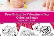 Valentine's Day Coloring Pages / Free coloring pages for Valentine's Day.