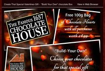 Chocolate House Promotions / Take advantage of our monthly promotions...go on you know you deserve it