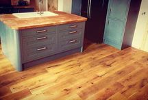 Hard Wood Flooring / A variety of hard wood flooring that we manufacture or provide and consists of engineered and solid wood.