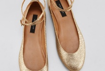 Wedding ballet shoes / Svatební balerínky