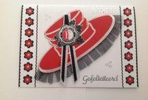 Sandra's kaarten gemaakt door Ella van Gils
