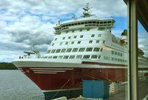Kreuzfahrt / Cruises / Auf Kreuzfahrt und mit Fährschiffen unterwegs
