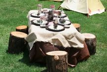 Camping Birthday Party Ideas / by Miranda Holman