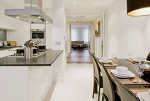 White Kitchens / We love a white kitchen! This board is for inspiration.