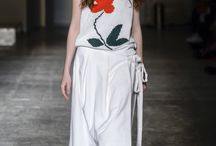 MFW Recap: Flowing Floral / Once again, floral makes its appearance among the looks on the MFW Runways. Definitely a must-have for the Spring 2016 season! Milan Fashion Week, h-a-l-e.com